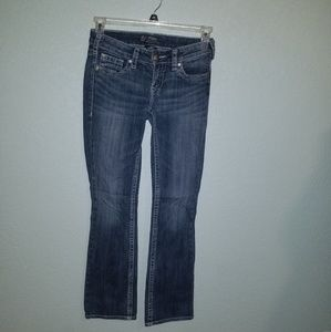 "Silver ""Aiko"" bootcut jeans"